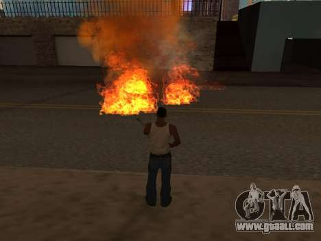 New Realistic Effects 4.0 Full Final Version for GTA San Andreas fifth screenshot
