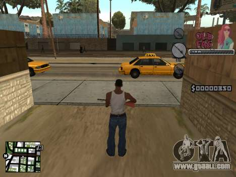 C-HUD Universal v2 for GTA San Andreas