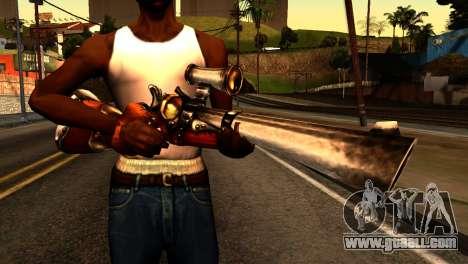 Assault Rifle from Redneck Kentucky for GTA San Andreas third screenshot
