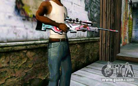 AWP L96А1 (Looney) for GTA San Andreas