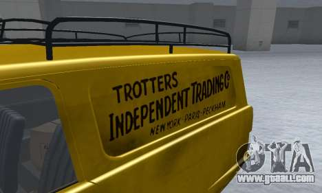 Reliant Supervan Only Fools and Horses for GTA San Andreas side view