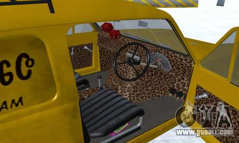 Reliant Supervan Only Fools and Horses for GTA San Andreas interior