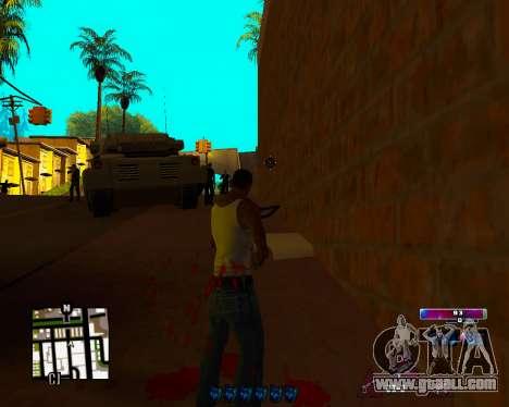 Space C-HUD v2.0 for GTA San Andreas third screenshot