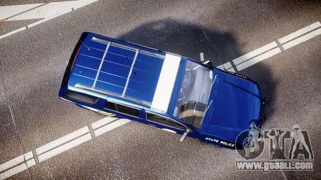 Chevrolet Trailblazer Virginia State Police ELS for GTA 4 right view