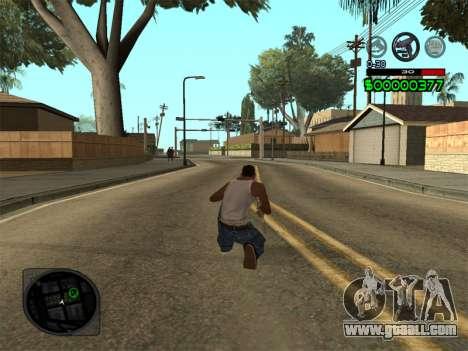 C-HUD by Radion for GTA San Andreas third screenshot