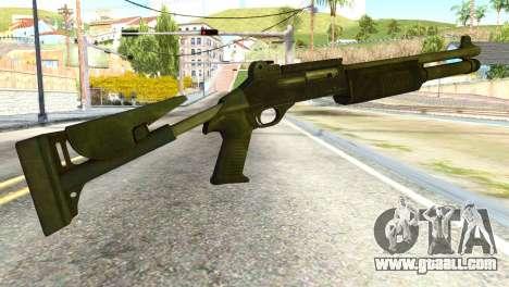 Shotgun from Global Ops: Commando Libya for GTA San Andreas second screenshot