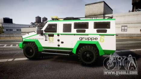 Gruppe6 Van [ELS] for GTA 4
