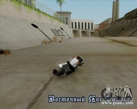Air bike for GTA San Andreas side view