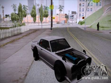 Nissan Skyline 2000 GT-R Drift Edition for GTA San Andreas right view