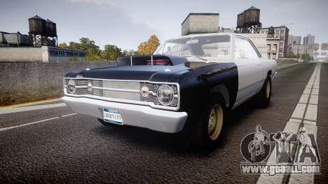 Dodge Dart HEMI Super Stock 1968 rims1 for GTA 4