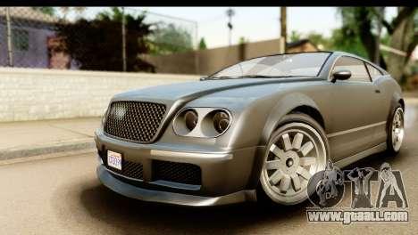GTA 5 Enus Cognoscenti Cabrio SA Mobile for GTA San Andreas