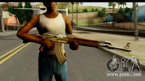 New AK47 for GTA San Andreas third screenshot