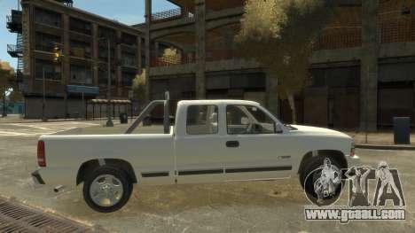 Chevrolet Silverado 1500 for GTA 4 left view