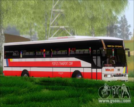 Nissan Diesel UD Peoples Transport Corporation for GTA San Andreas