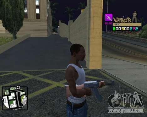 C-HUD Vagos for GTA San Andreas forth screenshot