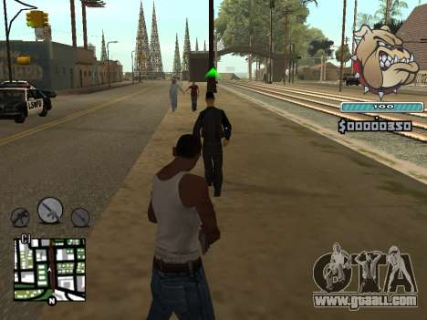 C-HUD Universal for GTA San Andreas second screenshot