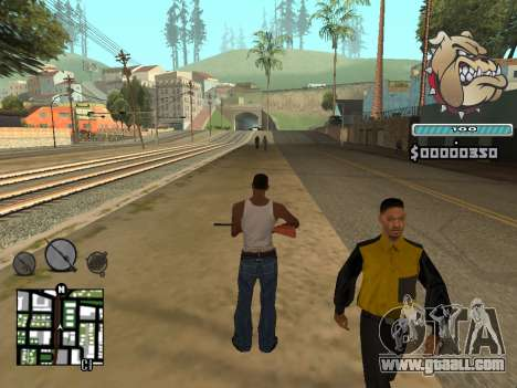 C-HUD Universal for GTA San Andreas forth screenshot
