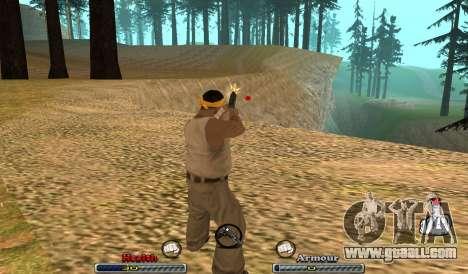 C-HUD Yeah for GTA San Andreas second screenshot