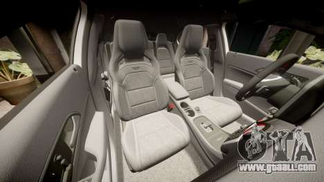 Mersedes-Benz A45 AMG PJs2 for GTA 4 upper view