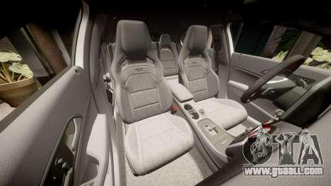 Mersedes-Benz A45 AMG PJs3 for GTA 4 upper view