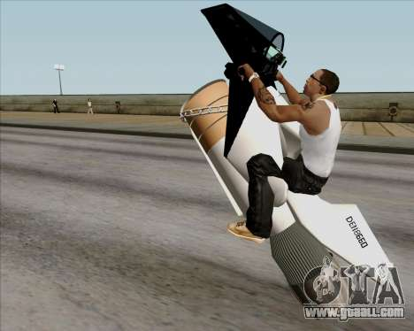 Air bike for GTA San Andreas inner view