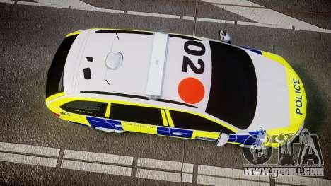 Skoda Octavia Combi vRS 2014 [ELS] Traffic Unit for GTA 4 right view