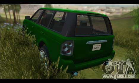Gallivanter Baller I (GTA V) (IVF) for GTA San Andreas