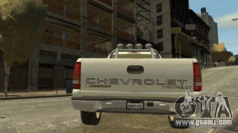 Chevrolet Silverado 1500 for GTA 4 right view