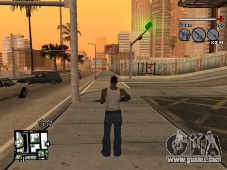 C-HUD Universal v3 for GTA San Andreas forth screenshot