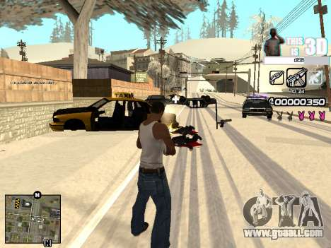 C-HUD 3D for GTA San Andreas forth screenshot