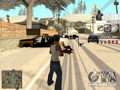 C-HUD 3D for GTA San Andreas forth screenshot