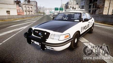 Ford Crown Victoria Sheriff Dukes [ELS] for GTA 4