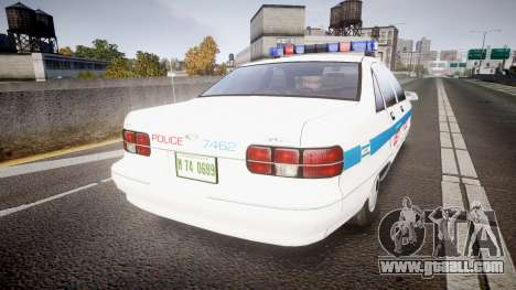 Chevrolet Caprice Liberty Police [ELS] for GTA 4
