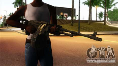 RPK from Kuma War for GTA San Andreas third screenshot