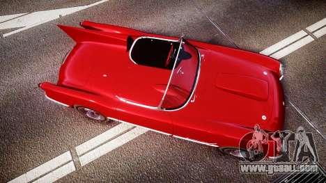 Chevrolet Corvette C1 1953 race for GTA 4 right view