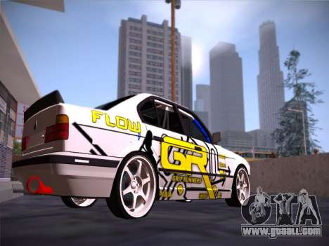 BMW M5 E34 Grip Runners Team for GTA San Andreas right view