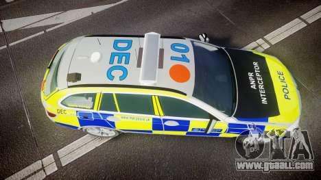 BMW 525d F11 2014 Metropolitan Police [ELS] for GTA 4
