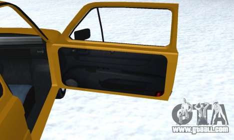 Fiat 126p FL for GTA San Andreas interior