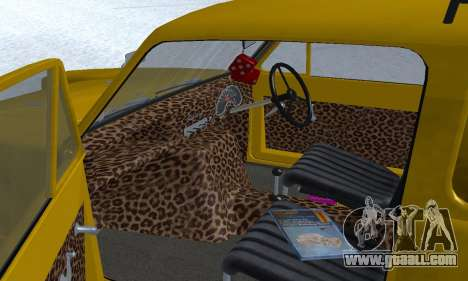 Reliant Supervan Only Fools and Horses for GTA San Andreas engine