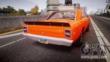 Dodge Dart HEMI Super Stock 1968 rims4 for GTA 4 back left view