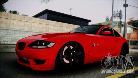 BMW Z4 M85 for GTA San Andreas