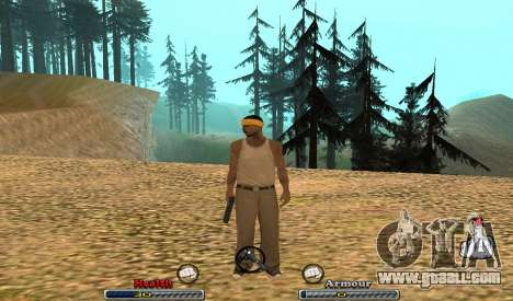C-HUD Yeah for GTA San Andreas