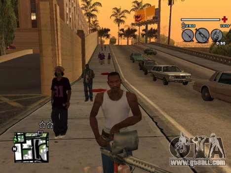 C-HUD Universal v3 for GTA San Andreas fifth screenshot
