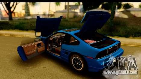 Pontiac Fiero GT G97 1985 IVF for GTA San Andreas side view
