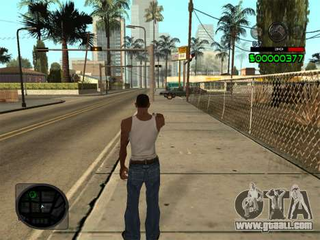 C-HUD by Radion for GTA San Andreas