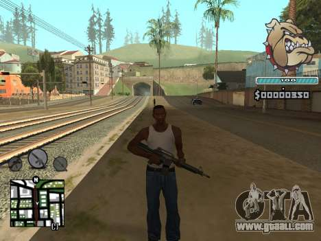 C-HUD Universal for GTA San Andreas third screenshot