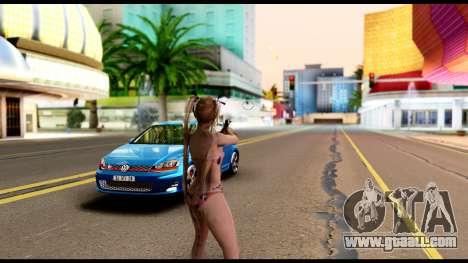Dead Or Alive 5U - Marie Rose Bikini for GTA San Andreas