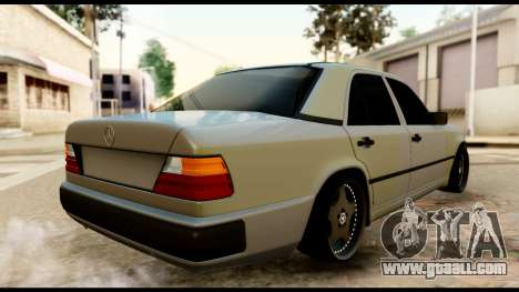 Mercedes-Benz 190E for GTA San Andreas left view