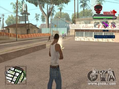 C-HUD by VinC for GTA San Andreas forth screenshot