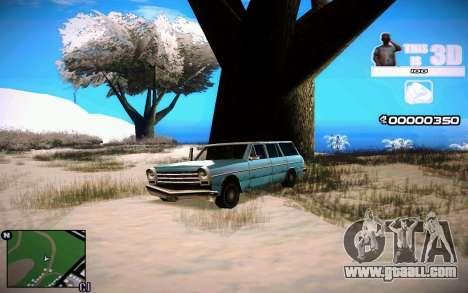 HUD 3D for GTA San Andreas second screenshot